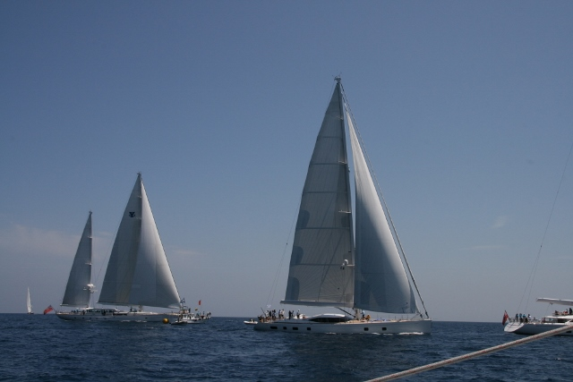 Two of the Superyachts