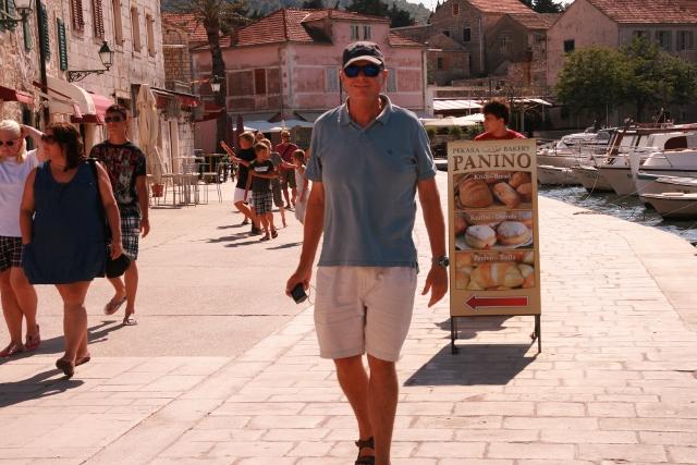 James on the Novo Riva