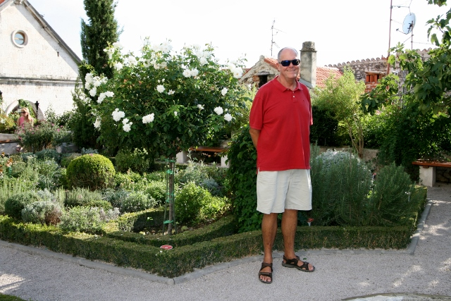James is the Medieval Garden
