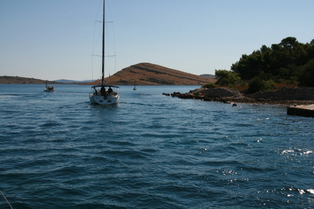 Passage between Kornat Island and Dugi Otok