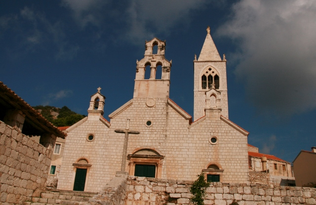 the church of St Kuzma and St Damien, seven centuries old