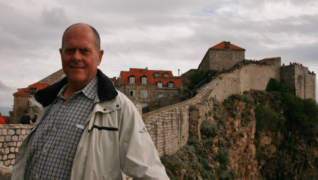 James on the Bastion Wall, Dubrovnik