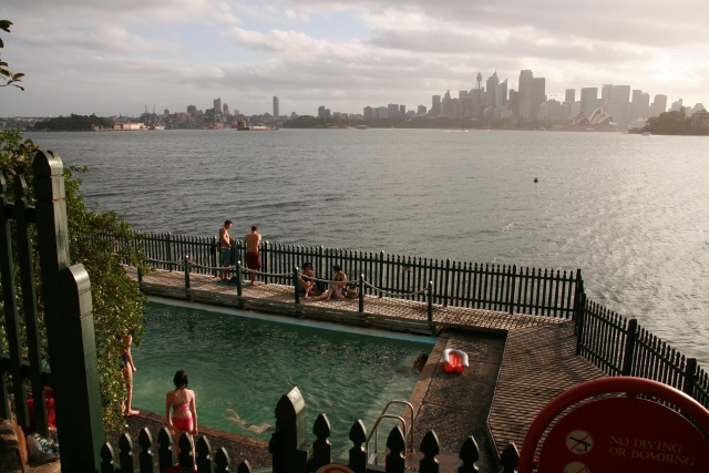 Cremorne Point pool