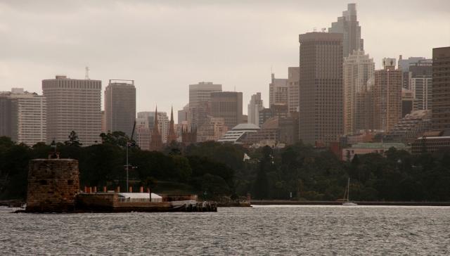 Fort Dennison aka Pinchgut island, Sydney's Martello Tower