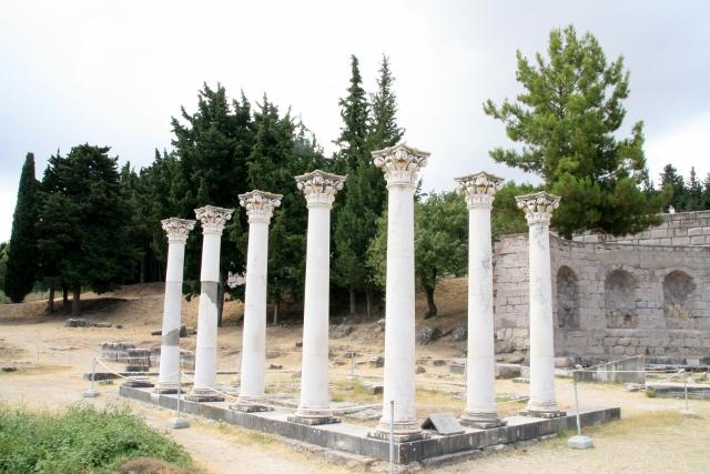 Asklepieion - Corinthian Temple