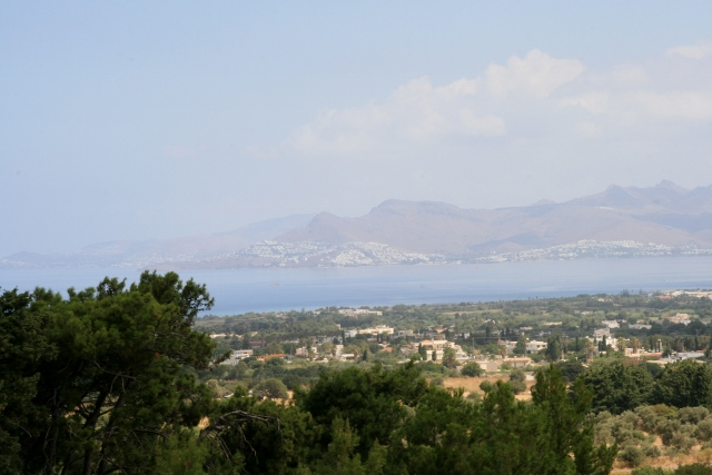 The view from the Asklepieion