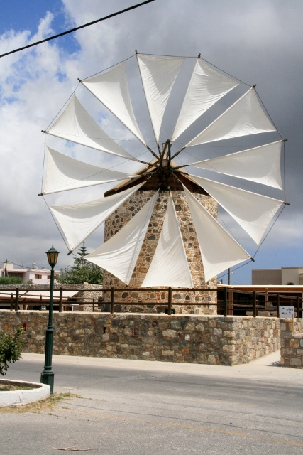 Windmill at Antimachia, Kos