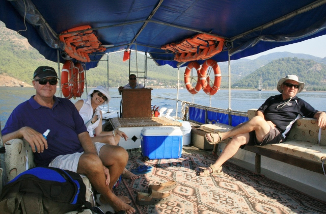 Going to the Dalyan Delta