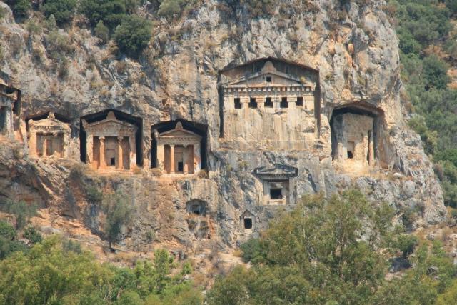 Lycian Tombs, Dalyan