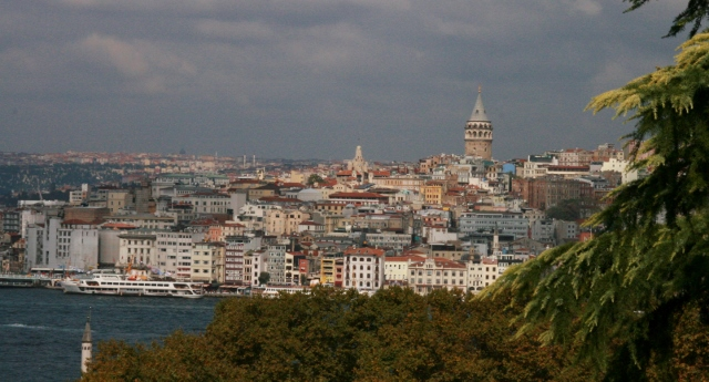 Galata tower in Karakoy