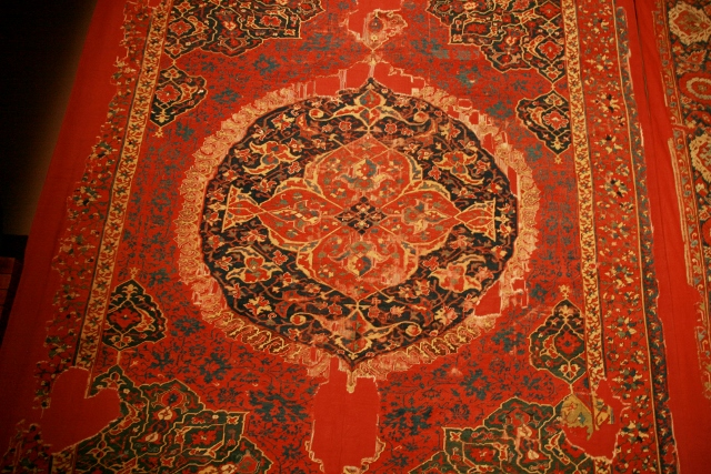 Rare and beuatiful piece from Carpet Museum